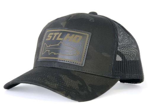 STLHD Black Ops Multicam Snapback Trucker Hat #STLHD-0304