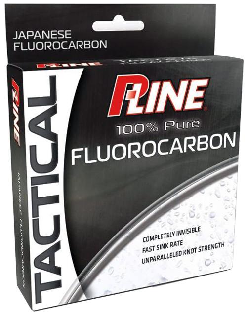 PLine Tactical Fluorocarbon Line 12 lbs x 200 yds #PTFL200-12