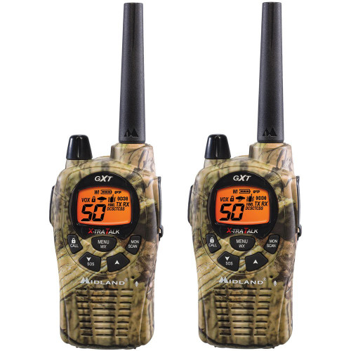 Midland Mossy Oak Camo 50 Channel 2-Way Radio #GXT1050VP4