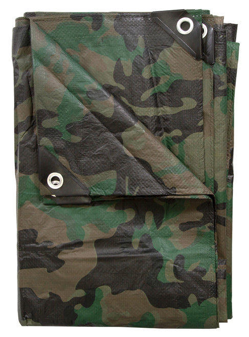 Stansport Woodland Camo Tarp