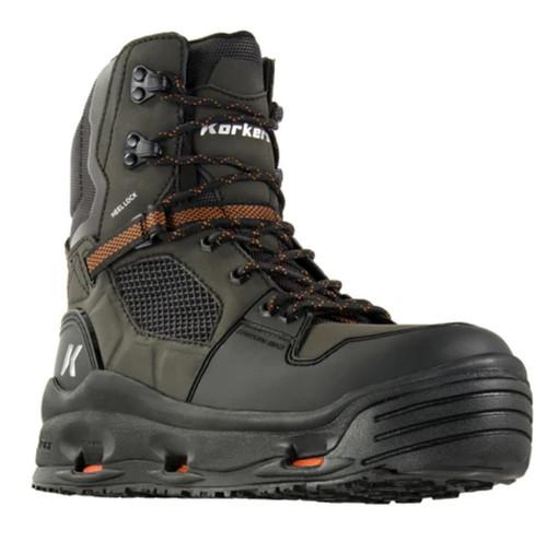 Korkers Terror Ridge Felt/Kling-On FB5210-10 Wading Boot 10 #FB5210-10