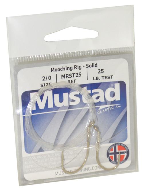 Mustad Classic Solid Tied Mooching Rig #MRST25-2/0-1