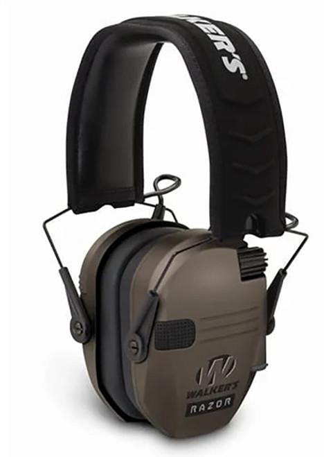 Walker's Razor Electronic Ear Muff  FDE #GWP-RSEM-FDE