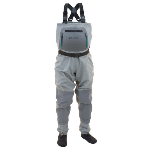Frogg Toggs Women's Hellbender Stockingfoot Chest Wader L #2751126-LG
