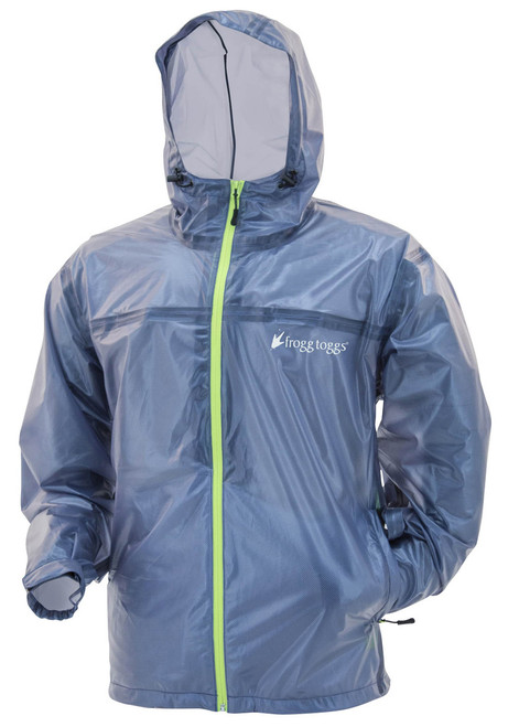 Frogg Toggs Men's Xtreme Lite Jacket  BLU/HV L #XLT62101-12LG