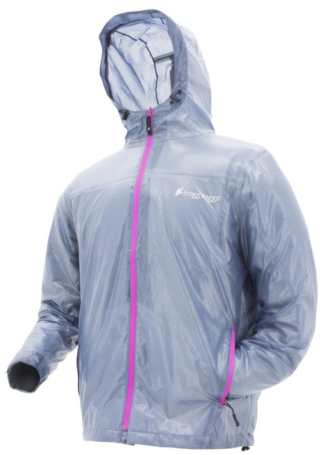 Frogg Toggs Women's Xtreme Lite Jacket  B/P L #XTL62501-12LG