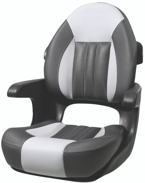 Tempress ProBax Captain's Boat Seat  CHAR/GRY/CRBN #68352