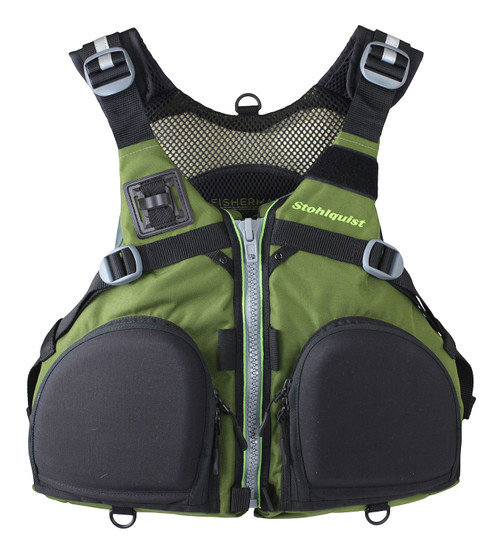 Stohlquist Fisherman Men's Life Vest (PFD)