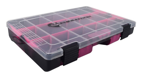 Evolution Outdoor Drift Series 3600 Tackle Tray-Pink