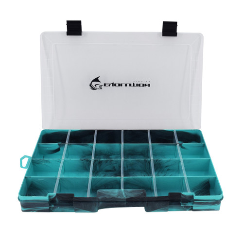 Evolution Outdoor Drift Series 3700 Tackle Tray-Seafoam
