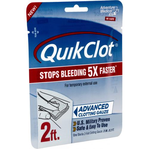 """Adventure Medical Kits Quick Clot Gauze 3""""x 2'"""