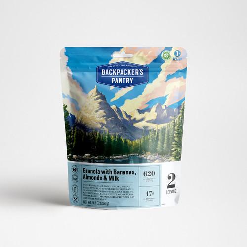 Backpacker's Pantry Granola W/Bananas, Almonds & Milk