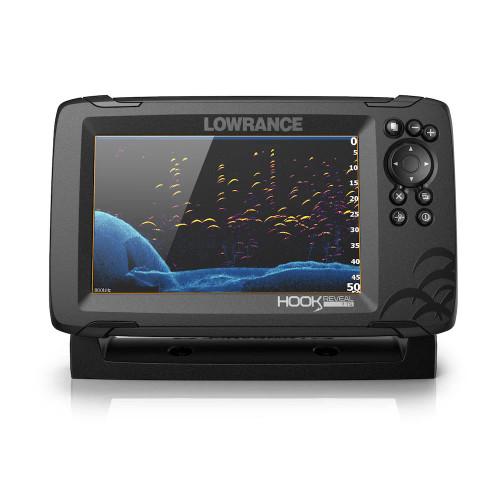 Lowrance Hook Reveal 7 Triple Navigation