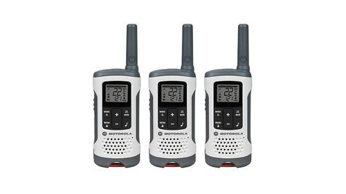 Motorola Two-Way radio 3pk (white) 25MI