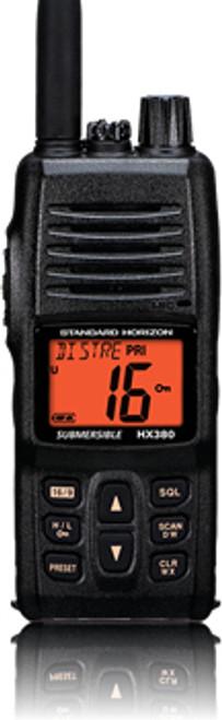 """STANDARD HORIZON HX380   1.5"""" HANDHELD VHF"""