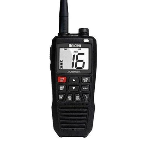 ATLANTIS 275 HANDHELD TWO-WAY FLOATING VHF MARINE RADIO