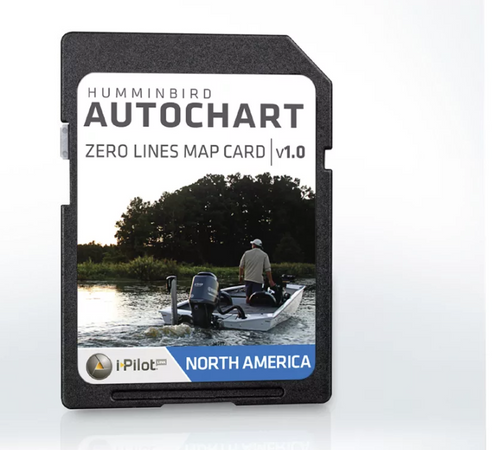 Humminbird Auto Chart Card Zero Line North America