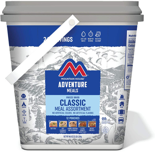 Mountain House  Classic Meal Assortment-Bucket