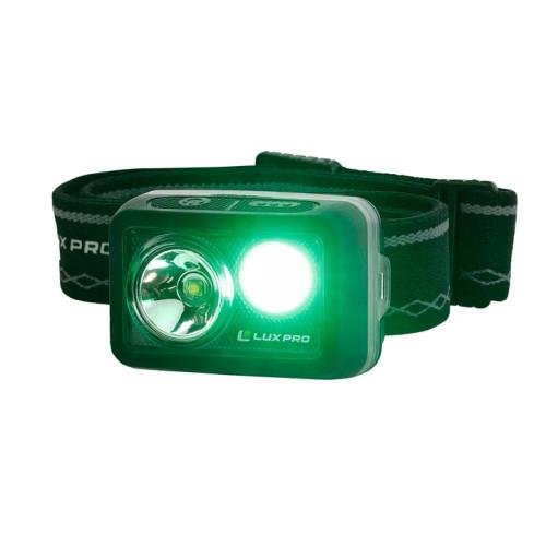 LuxPro Flood725 Waterproof Ultra Runtime LED Headlamp
