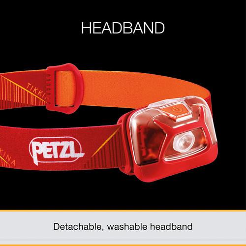 PETZL, TIKKINA 200 Lumen Outdoor HeadLamp  (Orange)