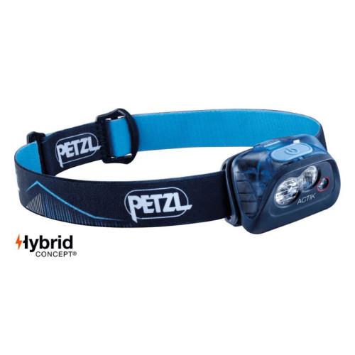 Petzl ACTIK 350 Lumen Headlamp (Blue)