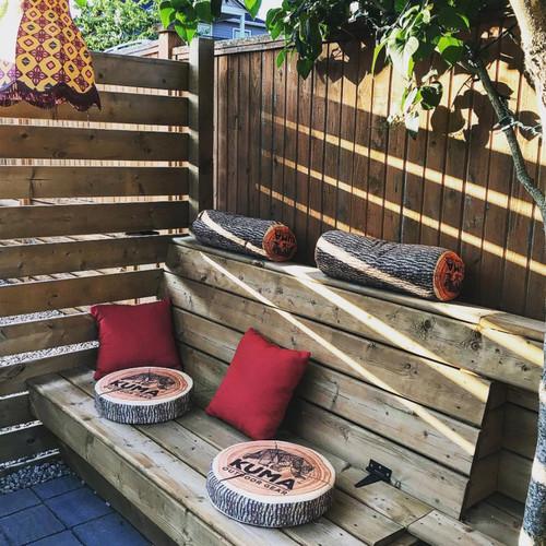 Kuma Outdoor Wood Chip Pillow/Seat Cushion