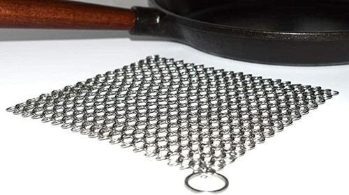 Camp Chef Chainmail Cast Iron Scrubber