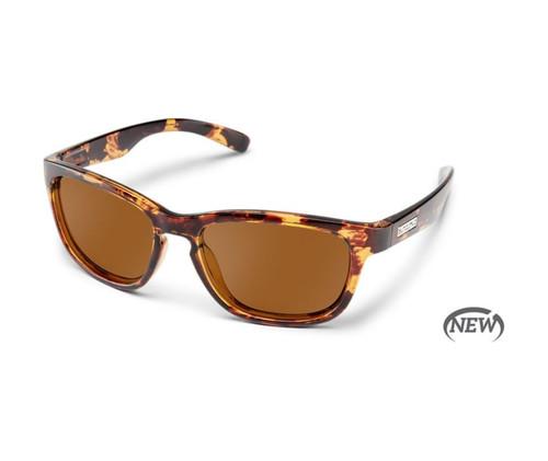 Women's Cinco Sunglasses, Brown Tortoise | Suncloud