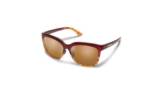 Suncloud Sunnyside Polarized Sunglasses - Raspberry/Tortoise