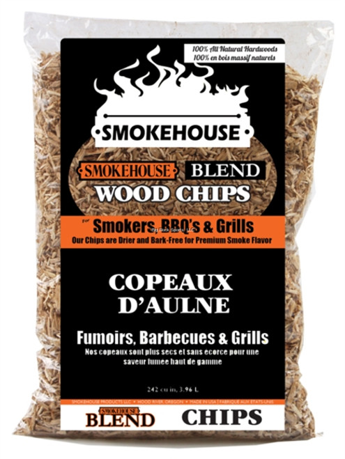 Smokehouse Wood Chips Blend : 9799-000-0000