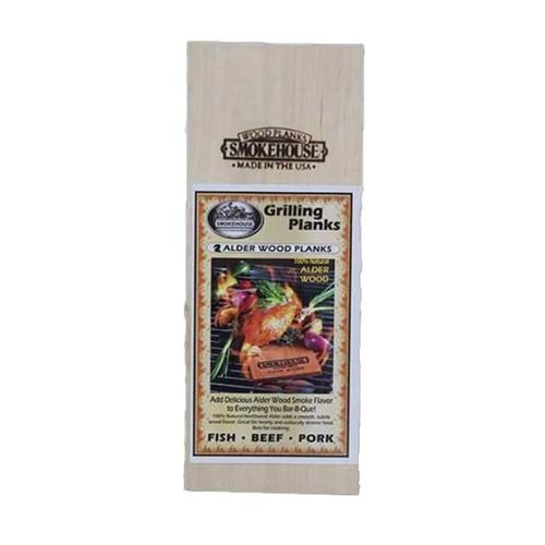 "Smokehouse Alder 15"" Wood Grillin Plank 2 Pack"