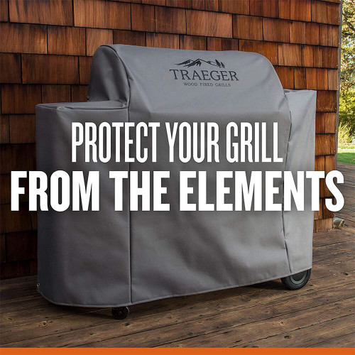 Traeger Full Length Grill Cover for Ironwood 885 Series Pellet Grills
