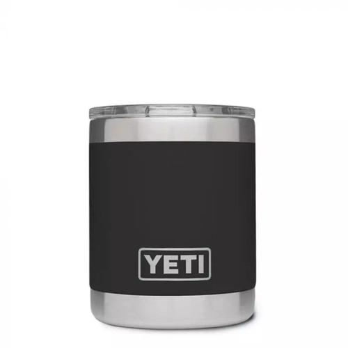 YETI Rambler 10 oz. Lowball with MagSlider Lid - Black