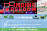 CBDResellers Will Be At The Finding Freedom Festival