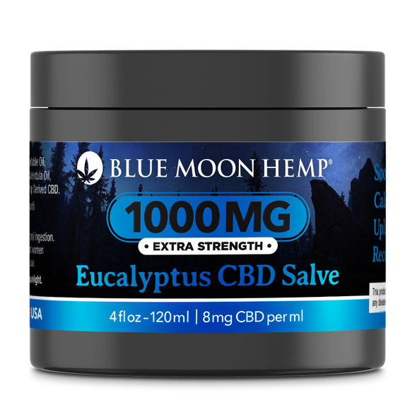 CBD SALVE EUCALYPTUS: The entourage effect is often cited when discussing CBD.  We believe that same concept applies to our proprietary essential oil compound which is composed of Emu Oil, Calendula, Grapeseed, Jojoba, Olive, Coconut and several terpenes.  All of these are then infused with our CBD formulation to give you a powerful salve which penetrates the epidermal layer and goes directly to the joint and muscle tissue.  This provides maximum effectiveness and incredible results.