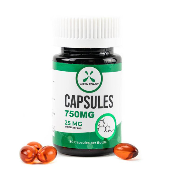 Green Roads CBD Capsules include 25 mg of hemp-derived, CO2-extracted, pharmacist-formulated CBD which has been third party lab-tested to ensure that what's on the label is what's in the bottle.