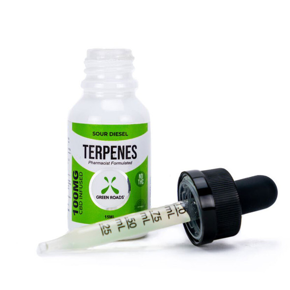 Terpenes are fundamental building blocks of nature. Every living thing produces terpenes to perform diverse biological functions. By infusing our all-natural CBD with terpenes also found in the hemp plant, we take advantage of the entourage effect, creating synergy between plant and human. The Sour Diesel Terpenes formula includes the terpenes found in the Sour Diesel strain of cannabis.
