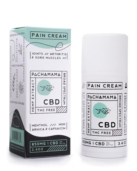 850mg of CBD oil infused with menthol and capsaicin to soothe sore muscles and joints. Broad spectrum hemp extract. THC FREE. Purity Award. Made in the USA.