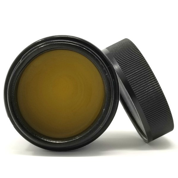 """Introducing the firstUNREFINEDSALVE™(Lavender/Lemon Grass/Tea Tree) by CBD For The People.""""The RAWEST, most POTENT CBD SALVE on the market.""""  Full-spectrum CBD is NOT created equal. CBD is DARK when extracted from the hemp plant. This is the RAW, UNREFINED state. It takes a lot of refining to make the oil GOLDEN and PRETTY like most other salves on the market."""