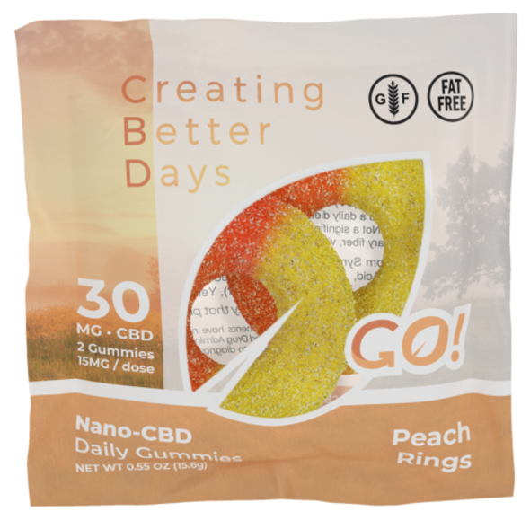 CBD Peach Ring Gummies are Chewy and Delicious! Enjoy Your Favorite Peach Ring Gummies While Getting the Wonderful Effects of CBD in Every Bite