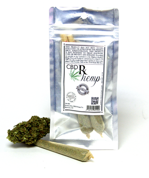 CBDR Hemp Premium CBD - 2 Pack - Pre Rolls Licensed and approved by the USDA for The State of California. Products containing less than 0.3% of THC on a dry weight basis that is grown in strict compliance with Section 7606 of the 2018 Farm Bill Act.