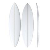 PU Single Fin: Machine Shaped Surfboard Blank