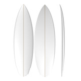 PU Sycno Shortboard: Machine Shaped Surfboard Blank