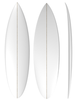 Shortboard: Machine Shaped Surfboard RT Blank