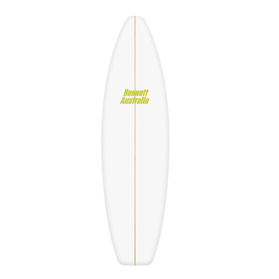 6'10 Shortboard Blank Dion Chemicals
