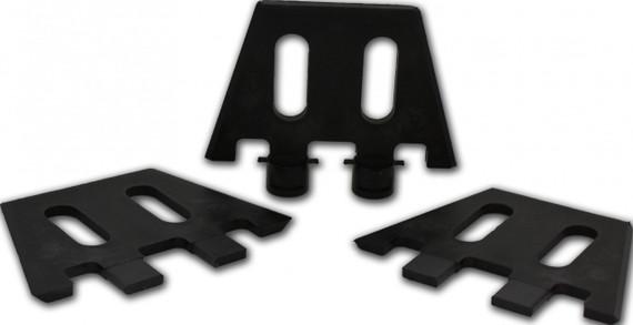 Shapers Fin Jigs (Set of Three)