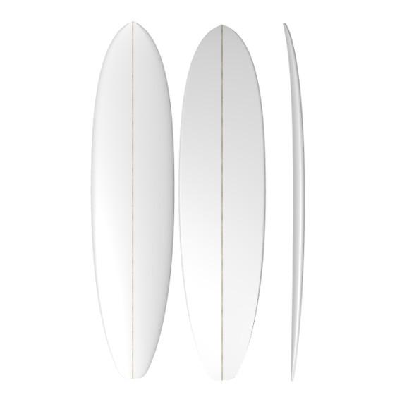 PU Mini Mal: Machine Shaped Surfboard Blank
