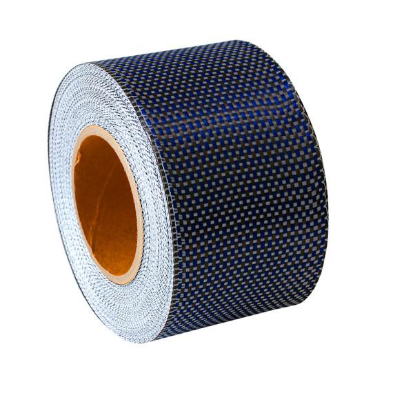 Kevlar Carbon Fibre Blue: Rail Tape