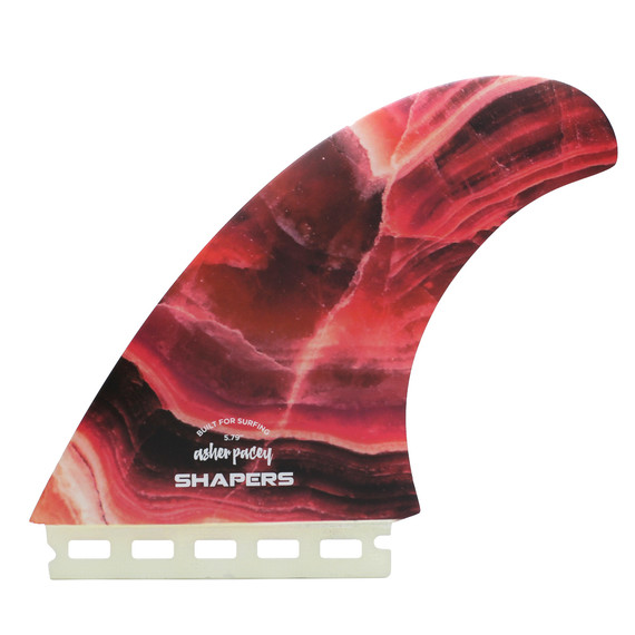 """Asher Pacey 5.79"""" Twin Fin - Agate"""