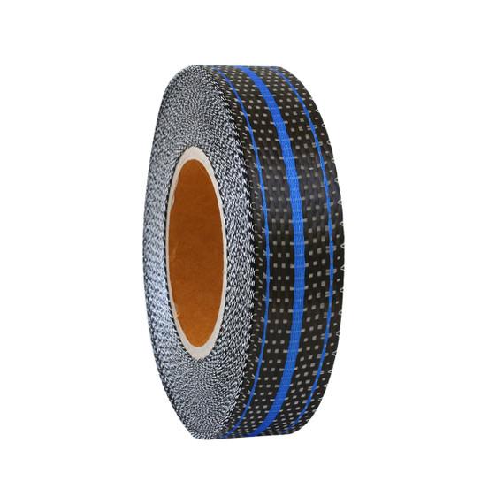 SALE: Uni Carbon Tape : 3 Strand Blue - 30mm - Full Roll